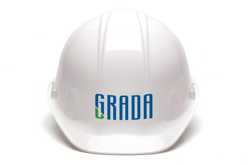 grada, real, estate, development, company, branding, logo, design, topuria, tbilisi, georgia, გრადა, ლოგო, ბრენდინგი, ლოგოს, დიზაინი, თოფურია,